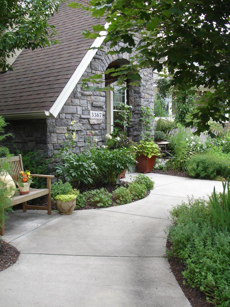 Cottage Garden Design, Curb Appeal, Perennial, Tutor www.sarahscottagecreations.com