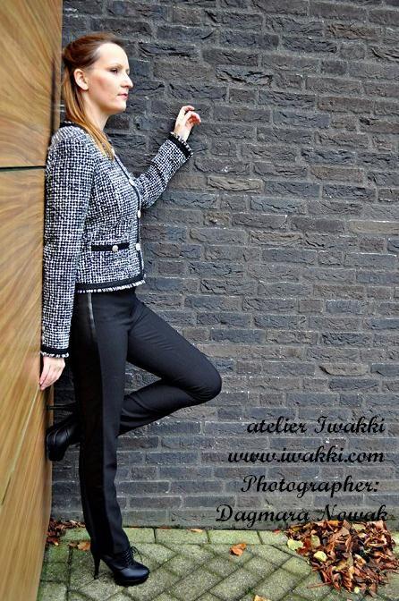 Designer: Iwakki  Garment Type: Chanel Jacket & Pants