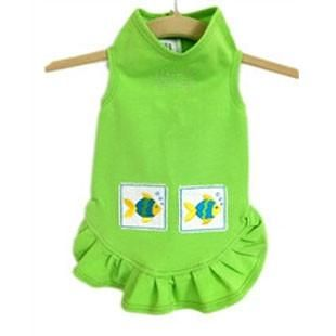 Tropical Fish Dress - BD Luxe Dogs & Supplies