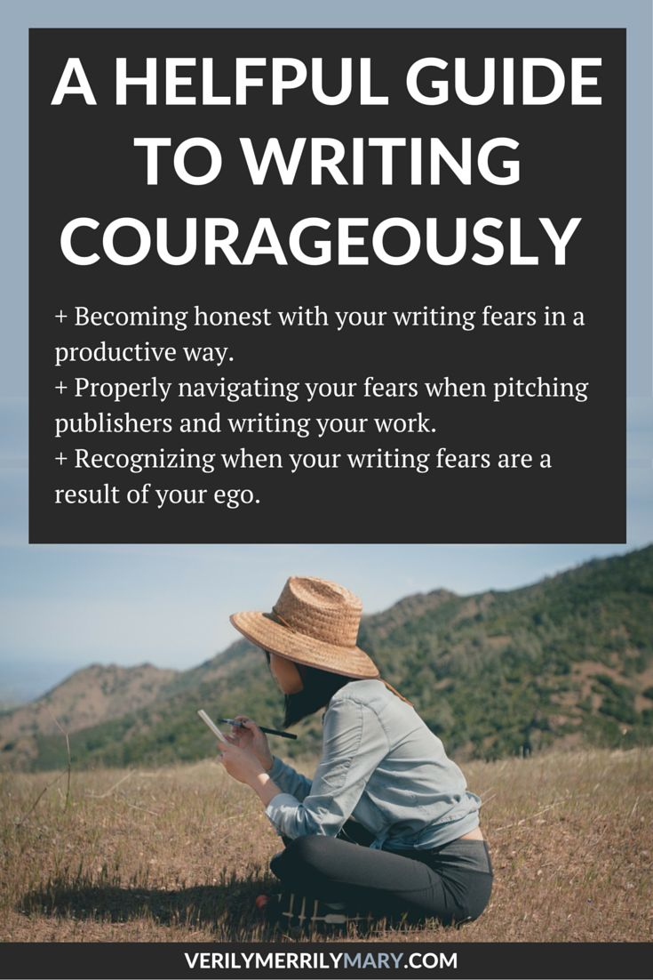 Click through to learn how to become honest with your writing fears in a productive way, properly navigate your fears when pitching publishers and writing your work, recognizing when your writing fears are a result of your ego. Write courageously.