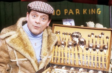 Del Boy. Derek Edward Trotter, better known as Del Boy, was the lead character in the sitcom 'Only Fools and Horses' on TV. He was played by David Jason.