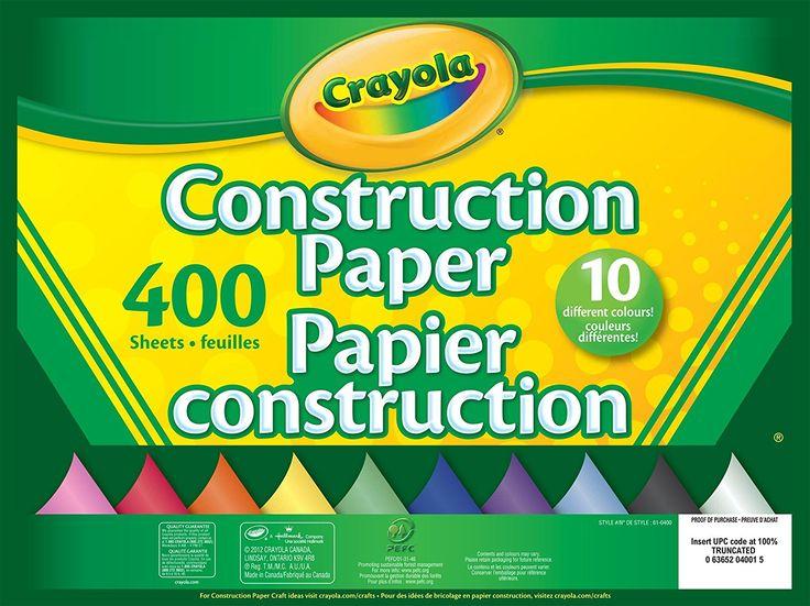papier construction