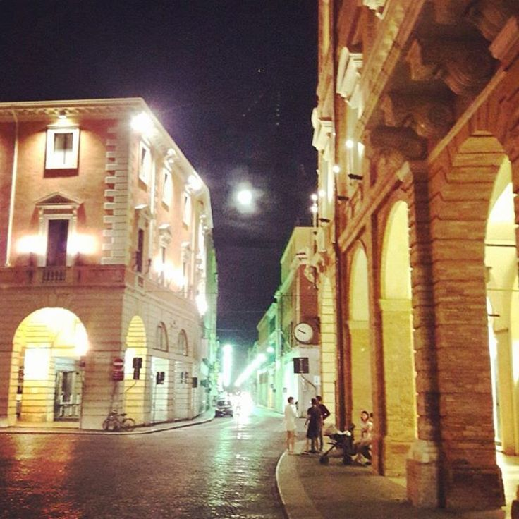 Forlì and the August moon