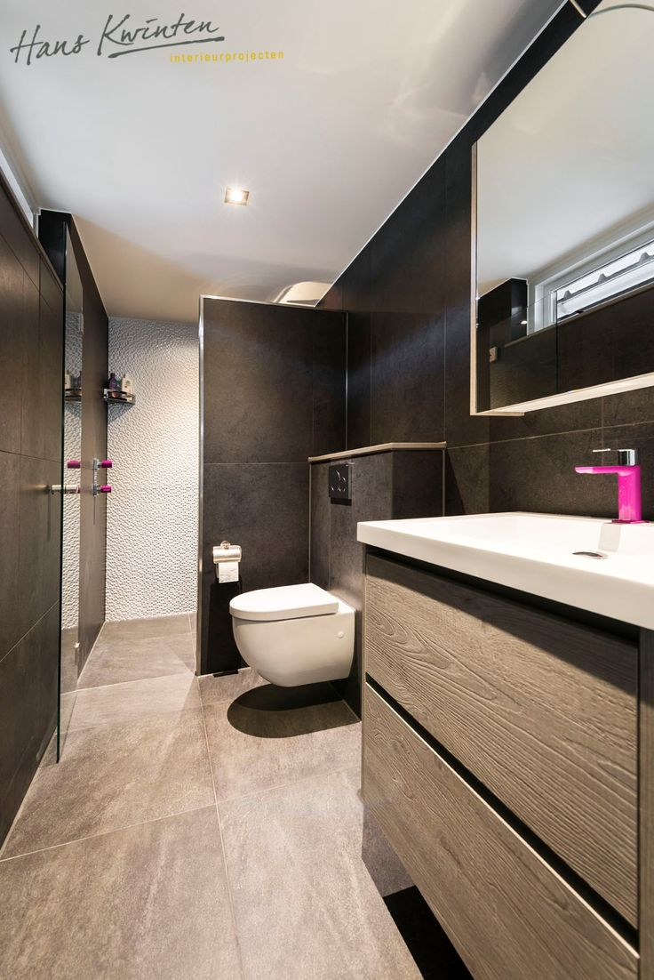 56 best badkamer images on Pinterest | Bathroom, Small shower room ...