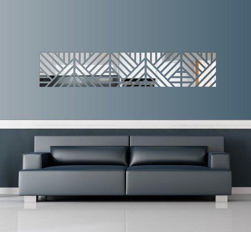 Nalepovacie dekoračné zrkadlá do interiéru