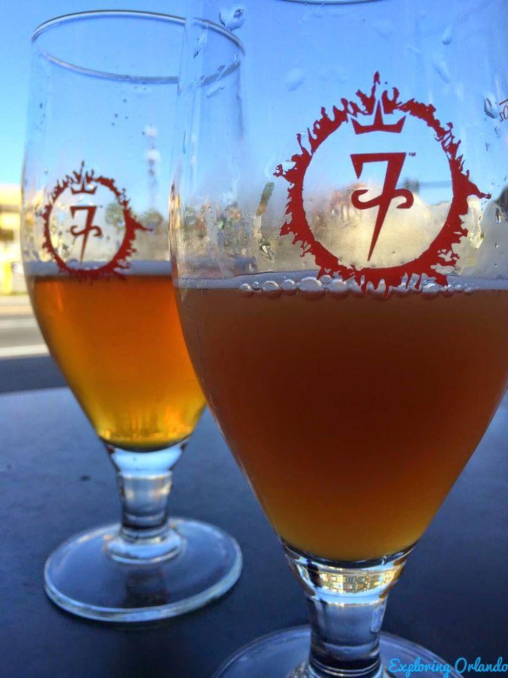 7venth Sun Brewery in Dunedin Florida #craftbeer