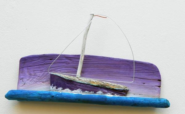 sailboat,driftwood  www.ultramarin-art.hr