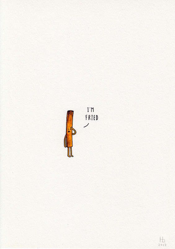 Adorable Pun Illustrations - Food, Object or Animal by Jaco Haasbroek are Innocently Clever (GALLERY)