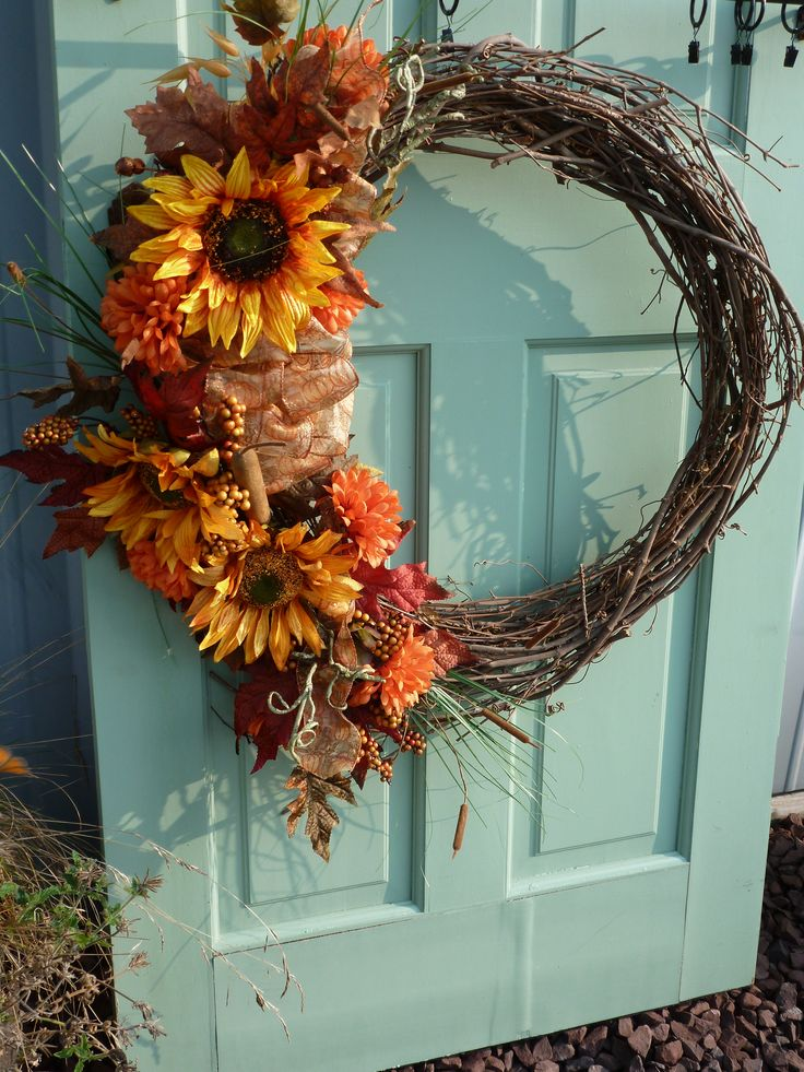 Prize winning Fall Wreath 9 best Wreath