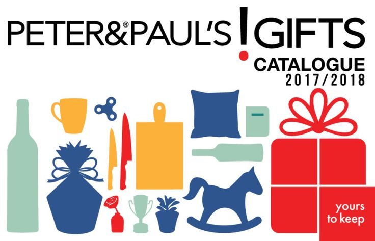 Sneak Peek Into Peter & Paul's Gifts' New 2017/2018 Product Catalogue