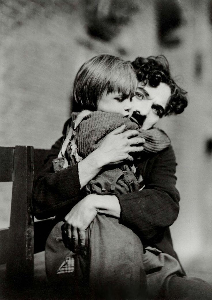 The Kid, Charlie Chaplin and Jackie Coogan