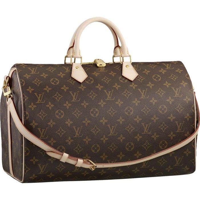Louis Vuitton Handbags #Louis #Vuitton #Handbags - Speedy 40 With Shoulder Strap - $235.99