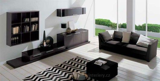 Minimalistické obývací pokoje 9