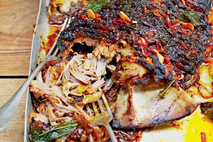 Turn up the spice factor with Jamie Oliver's lively pulled, spiced lamb.
