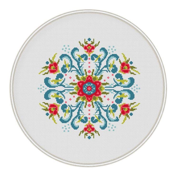 Vintage Design Cross Stitch Pattern cross di MagicCrossStitch