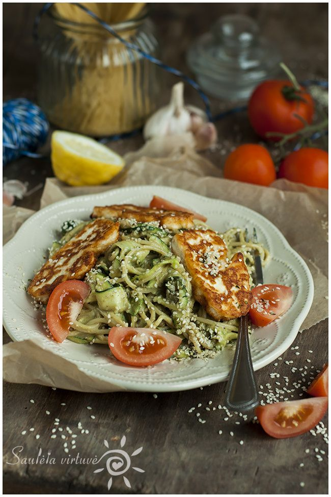 445 best my food blog saulta virtuv images on pinterest zucchini spaghetti with avocado sauce forumfinder