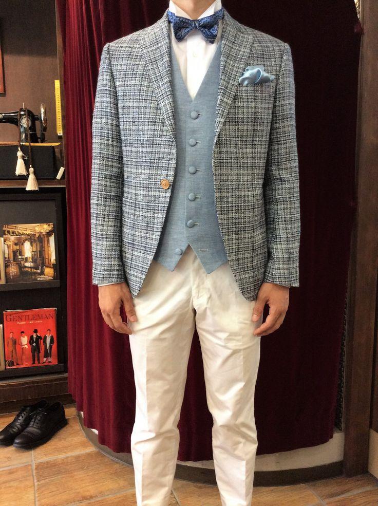 【新郎様 カジュアル衣装】|結婚式の新郎タキシード/新郎衣装はメンズブライダルへ