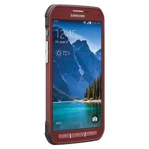 Samsung Galaxy S5 Active G870A Red @ 38 % Off With 1 YEAR AUSTRALIAN WARRANTY. Order Now Offer For Limited Time Period!!!