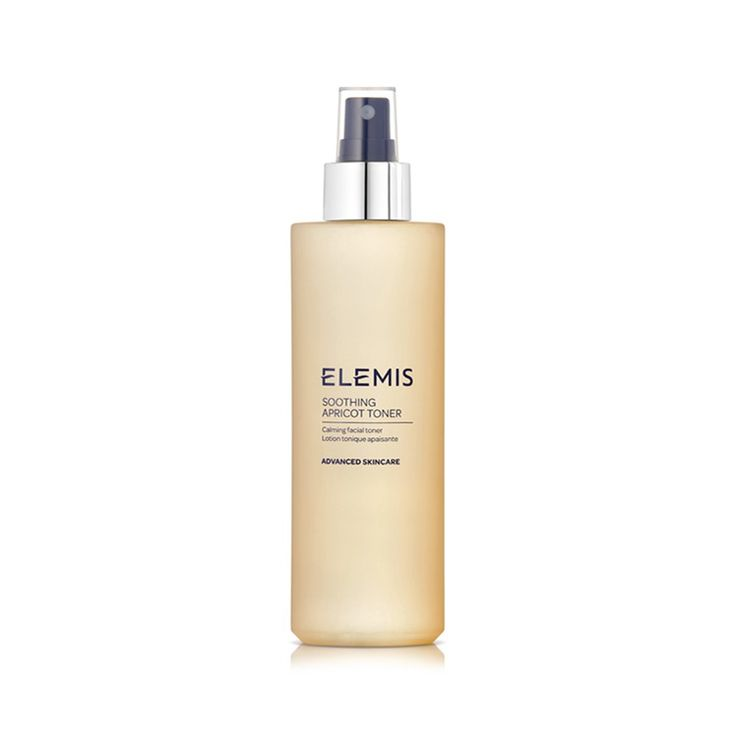 ELEMIS Soothing Apricot Toner, lovely and gentle, extremely refreshing, you don't get that harsh feeling of tightness after using it. Also doubles as a facial spray