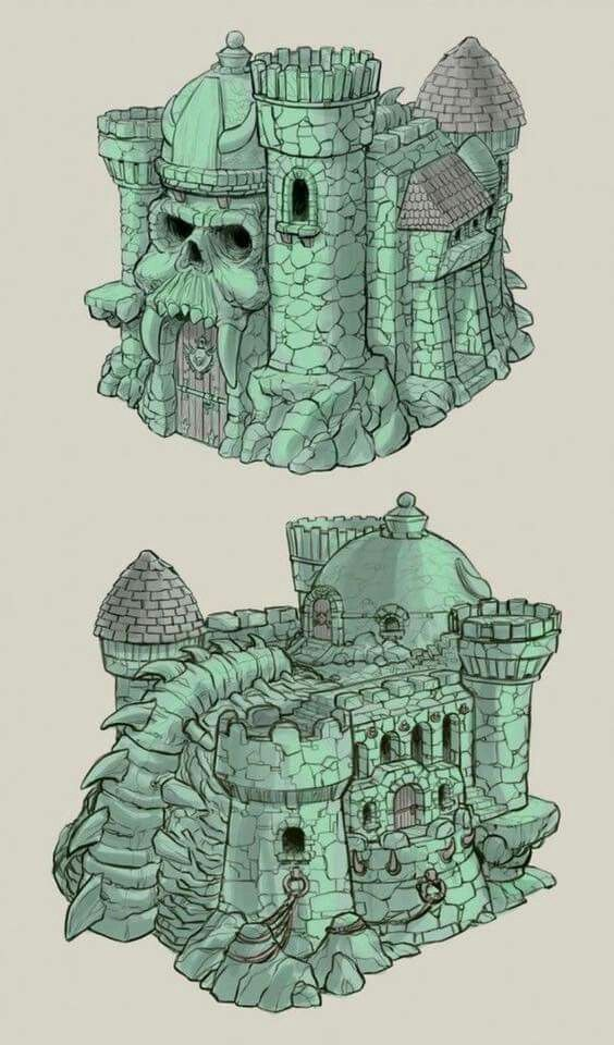 He-Man and the Masters of the Universe - Castle Grayskull.