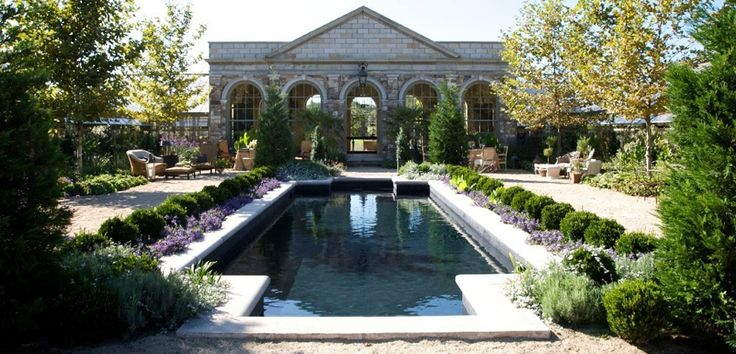 Orangerie and pool. AJF Design.