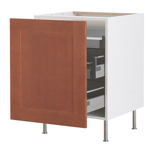 205.97 AKURUM Base cabinet with pull-out storage IKEA