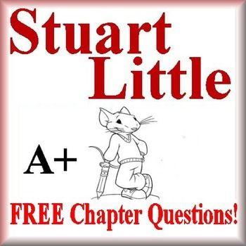 This is a Stuart Little Freebie!  It is from the novel, Stuart Little, by E.B. White.  This freebie contains questions from chapters 1 - 3 and an answer key.  It is a sample of a larger novel guide written by A+ Literature Guides.Go here to purchase the complete novel guide:Stuart Little Novel GuidePress the links below to purchase other A+ Literature Guides:Freckle Juice Novel GuideCharlottes Web Novel GuideStuart Little Novel GuideFrindle Novel GuideIndian Captive:  The Story of Mary…
