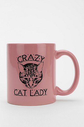 Crazy Cat Lady Mug: