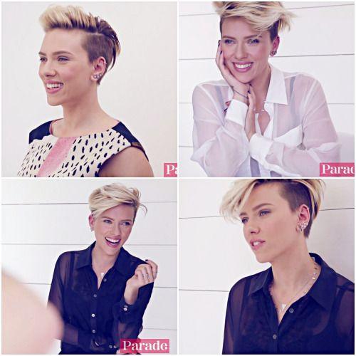 Scarlett Johansson - fashion and beauty
