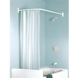 Shower curtain rods – they're all the same, right? Wrong! Shower curtain rods come in a variety of shapes, sizes and convenience. Double, curved, circular — we have a roundup of some unique curtain rods that'll fit a variety of showers.