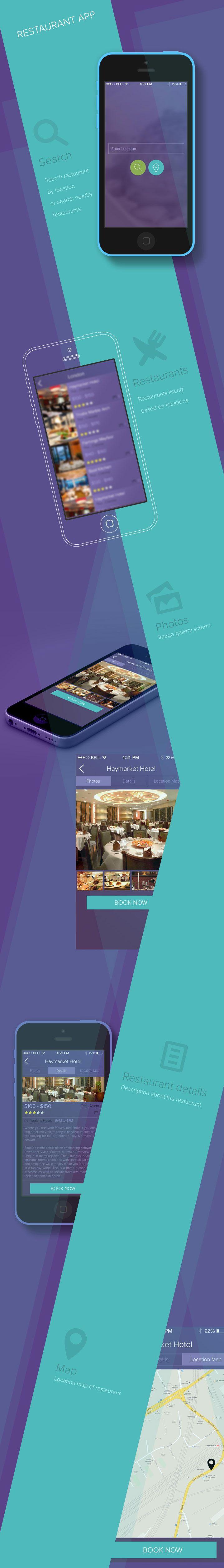 Restaurant iPhone App