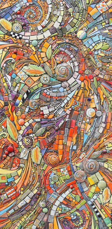 Picture - Lynn Peterson - tile work. Amazing.