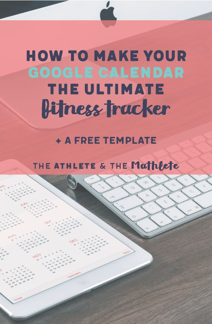 In this article you'll learn how to make your Google calendar your favorite fitness tracker and workout planner in 5 easy steps. Click to see how or save this pin for later!