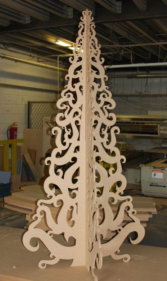 MDF Christmas tree