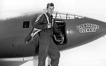 1947: Chuck Yeager breaks the sound barrier for the first time on October 14, flying the X-1 at Mach 1.07 at an altitude of 45,000 feet.