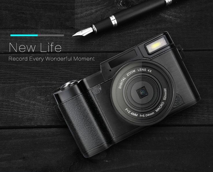 "68.96$  Buy here - ""KARUE  CDR2 24MP Digital Camera Full HD 1080P 3.0""""LCD Rotatable Anti-shake 4X Video DV Recorder Cam w/Wide-angle Lens ""  #buymethat"