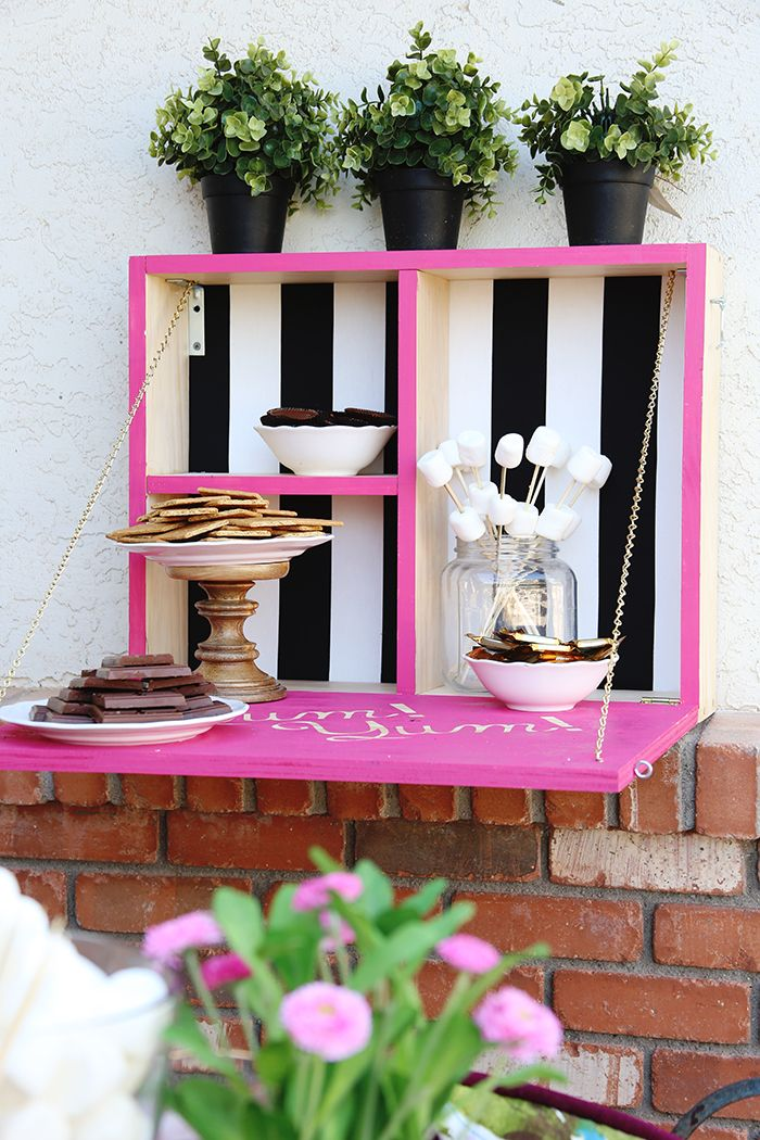 You're invited: DIY Outdoor Serving Station with The Home Depot - Classy Clutter
