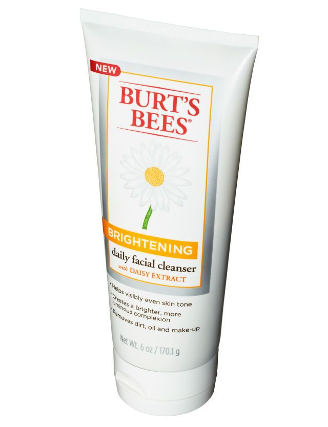 """Burt's Bees Brightening Daily Facial Cleanser, $10 """"I was amazed that a non-foaming cleanser could get my skin so squeaky clean,"""" said Price of this natural wonder. """"Also, it's so concentrated that you only need a pea-size drop."""""""