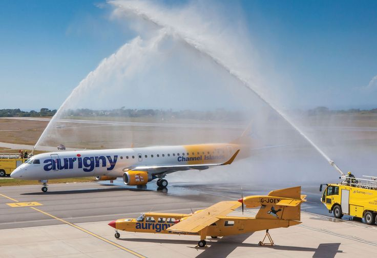 Aurigny Takes Delivery of First Embraer   Air Transport News ...