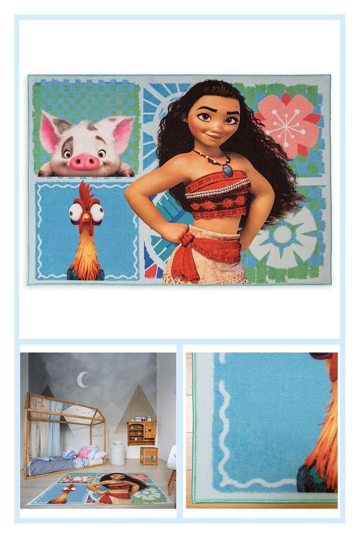 Disney Moana 4 6 X 6 6 Area Rug Kids Area Rugs Kids Area Patchwork Rugs