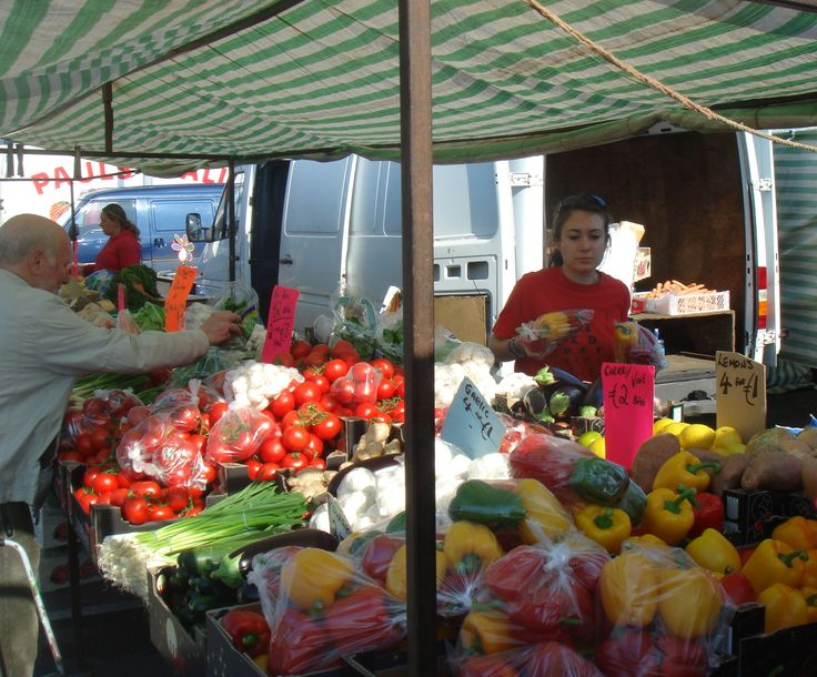 Up early for Drogheda Market on a Saturday morning, it's a favourite all year round but especially in the Spring.