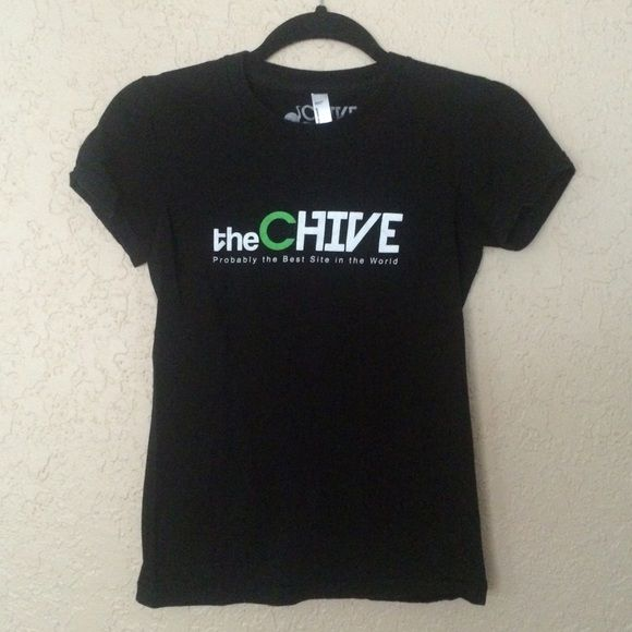 The Chive Shirt Black Chive shirt The Chive Tops Tees - Short Sleeve