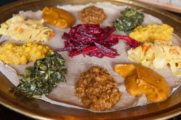 """17 Ethiopian Foods Every Vegetarian Should Know About""- That's all fine and dandy but don't forget to order 'kitfo' - Ethiopian Beef Tartare!"