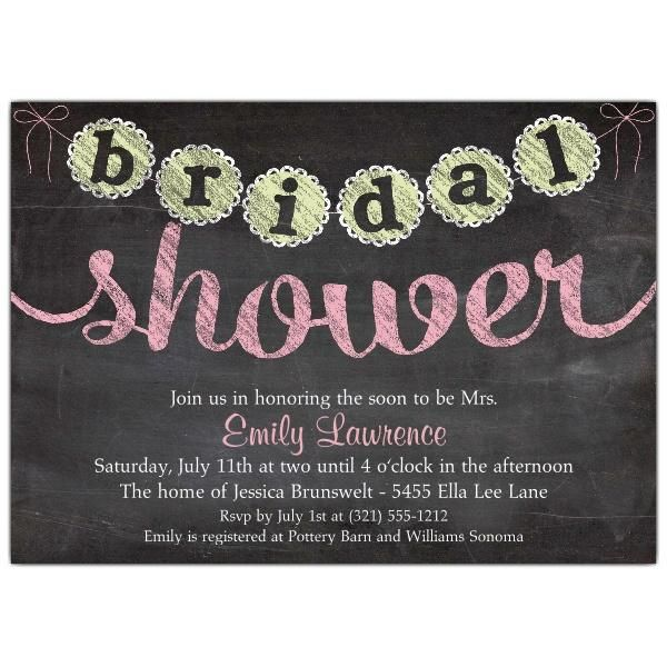 Free Templates For Bridal Shower Invitations #10
