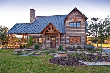 Texas vacation cabin rustique-facade