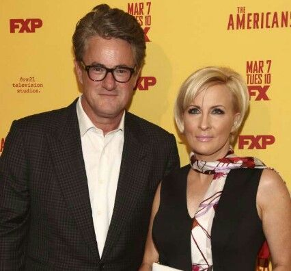JOE SCARBOROUGH AND MIKA BRZEZINSKI ARE REPORTEDLY ON VACATION TOGETHER