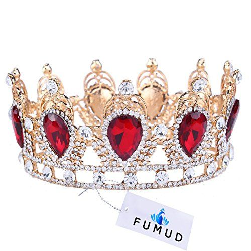 Amazing King/Queen Crown Simulated Red Ruby Stone Sapphir... https://www.amazon.com/dp/B01AN4ZPH0/ref=cm_sw_r_pi_dp_x_CjdcybCD89B3J