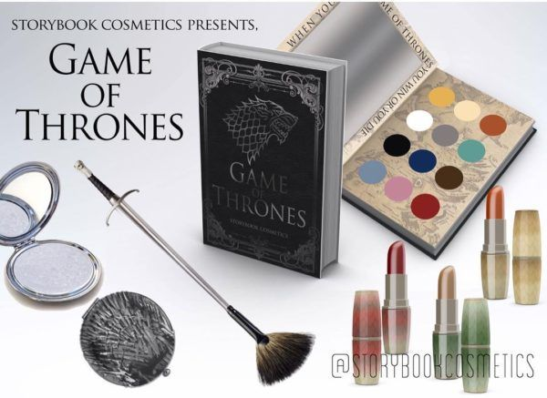 Storybook Cosmetics Teases Star Wars, GoT And Doctor Who Brush Designs