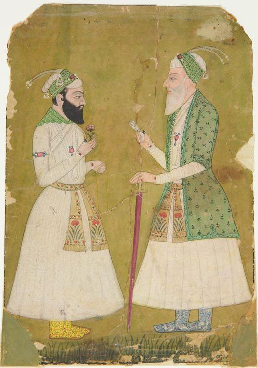 Aurangzeb and a Nobleman