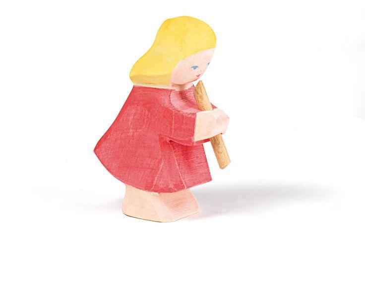 Das Mädchen mit Flöte